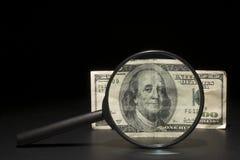 100 dollari Bill Fotografia Stock Libera da Diritti