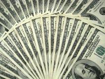 100 dollari di note Immagini Stock