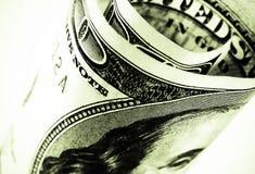 100 dollarrekening Stock Foto's