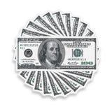 100 dollars Royalty Free Stock Image