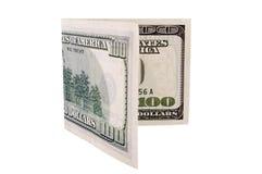 100 dollars Photographie stock libre de droits
