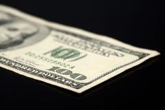 100 Dollarschein Stockfotografie
