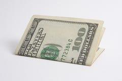 100 Dollarschein Stockfoto