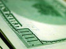 100 dollarsrekening Royalty-vrije Stock Fotografie