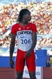 100 dos homens medidores de marrom de Canadá Fotografia de Stock