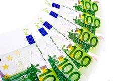 100 euro Royalty-vrije Stock Afbeeldingen