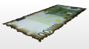 100 euro bill Stock Images
