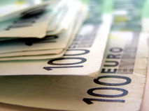 100 Euro - One hundred Euros Stock Images