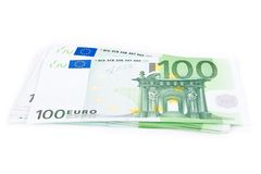 100 euros Stock Images