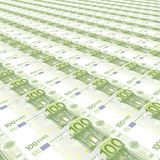 100 euros Background Stock Photos