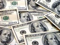 $100 factures Photos stock
