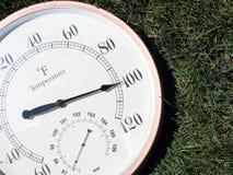 100 Fahrenheit Arkivfoton