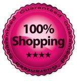 100 faisant des emplettes Photo stock