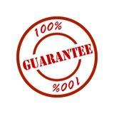 100 garanterad tillfredsställelse Arkivbild