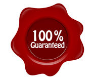 100% garantido Fotografia de Stock Royalty Free