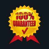 100% garantido Fotografia de Stock