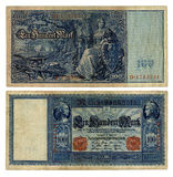 100 German Reichsmark Royalty Free Stock Photography