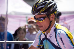 100° Giro d' Italia - Lance Armstrong Royalty Free Stock Photo