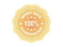 100 % GUARANTEE label Stock Photos