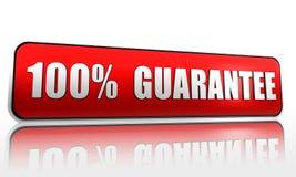 100 guaranteeprocent stock illustrationer