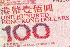 100 HKD Foto de Stock Royalty Free