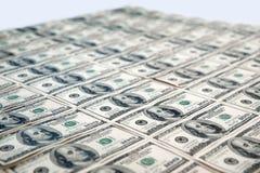 100 hundert Dollarscheine Stockbild