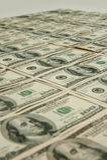 100 hundert Dollarscheine Lizenzfreies Stockfoto