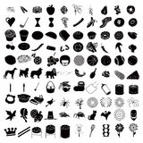 100 Icon Set 3 Stock Photo