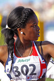 100 Meter Frauengroßbritannien nwawulor Stockfotos