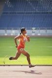 100 Meters van vrouwen voor Gehandicapten Stock Fotografie
