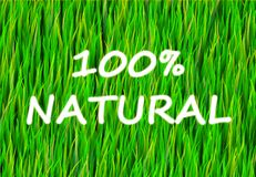 100% Natural. And Pure Now Abstract Background Royalty Free Illustration