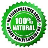100 naturali Immagini Stock Libere da Diritti
