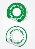 100 naturliga cirklar Royaltyfria Bilder