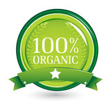 100% organic Royalty Free Stock Images
