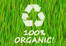 100% organico royalty illustrazione gratis