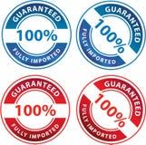 100 Percent Guarantee Royalty Free Stock Photo