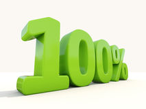 Free 100 Percentage Rate Icon On A White Background Stock Images - 38101734