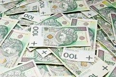 100 PLN Imagens de Stock