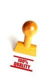 100 Prozent Qualität Stockfotos