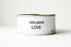 100% Pure Love Royalty Free Stock Photos
