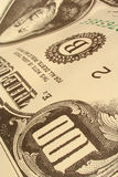 100 rachunek Obraz Stock