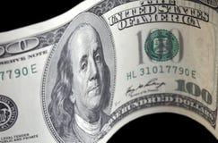 $100 Rechnungen Stockfotografie