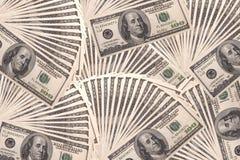 $100 rekeningen Royalty-vrije Stock Afbeelding
