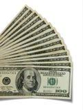 $100 rekeningen stock foto