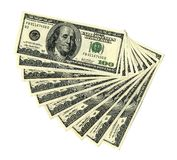 $100 sedlar Royaltyfri Bild