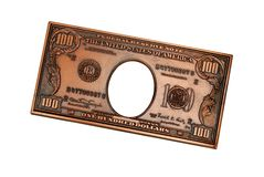 100 us banknote Royalty Free Stock Photos