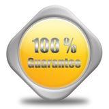 100% waarborg stock illustratie