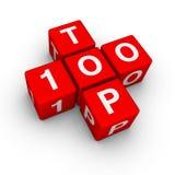 100 wierzchołek Fotografia Stock
