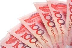 100 Yuan Renminbi Lizenzfreie Stockbilder