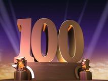 100 złoty Zdjęcia Royalty Free